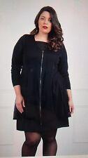 Jean Marc Philippe Dress/Tunic Plus Size 24 Black Color