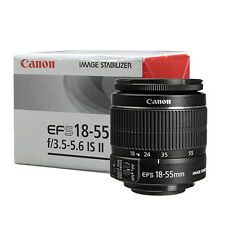 Canon EF-S 18-55mm f/3.5-5.6 IS II Lens BRAND NEW - USA