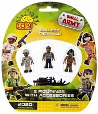 Cobi Small Army Figurines Mini Figures Accessories 3 Pack building blocks 2020