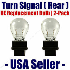 Rear Turn Signal/Blinker Light Bulb 2-pack Fits Listed Oldsmobile Vehicles 3156