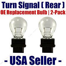 Rear Turn Signal/Blinker Light Bulb 2-pack Fits Listed Ford Vehicles - 3156