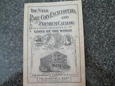 "1932 36th EDITION OF ""THE STAR RARE COIN ENCYCLOPEDIA AND PREMIUM CATALOG"