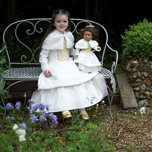 LIMITED EDITION AMSCAN WINTER WONDERLAND PRINCESS FANCY DRESS UP COSTUME AGE 3 -