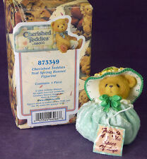 CHERISHED TEDDIES Friends are the Spice of Life SPRING BONNET 873349 NIB 2001