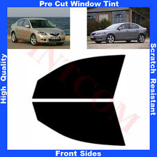 Pre Cut Window Tint Mazda 3 4Doors Saloon 2003-2009 Front Sides Any Shade