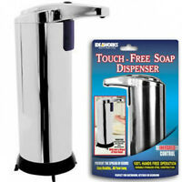 Stainless Touch Free Infrared Automated Soap Dispenser Lotion Hands Automatic
