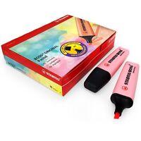 STABILO BOSS Original Pastel Highlighter Marker Pens – Pack of 10 – Pink
