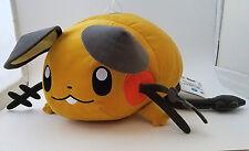 "Japanese Pokemon 14"" Dedenne plush doll Banpresto UFO laying down lying relaxed"