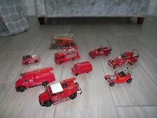 More details for job lot of diecast fire engines del prado etc