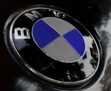 Gloss Silver Complete Set Vinyl Sticker Overlay for All BMW Emblems
