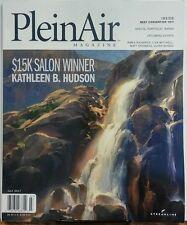 Plein Air Magazine July 2017 Salon Winner Kathleen B Hudson FREE SHIPPING sb