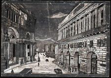 cartolina NAPOLI teatro s.carlo,galleria e maschio angioino