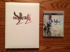Final Fantasy XIII-2 (PlayStation 3) + Official Guide Collector's Edition!