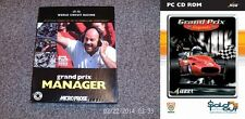 GRAND PRIX MANAGER * Edizione Big Box * & GRAND PRIX LEGENDS * DVD edizione CUSTODIA *
