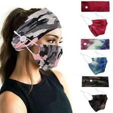 1 Set Headband Yoga Gym Running Stretch Wrap Sport Cycling Hair Band Face Cover