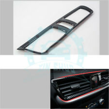 For Mazda 3 Axela 17-18 Carbon fiber look interior middle A/C Vent cover  tr