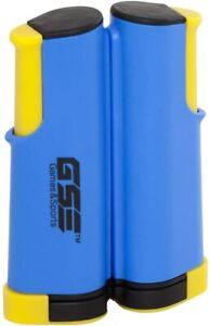 Portable Retractable Table Tennis Net & Post (BLUE & YELLOW)