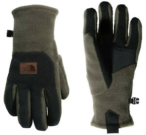 The North Face Men's Logo Patch UR Gloves, Taupe Green TNF Black, L Large 7142-6