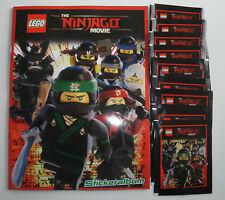 Lego The Ninjago Movie Sticker - Leeralbum + 10 Tüten   NEU