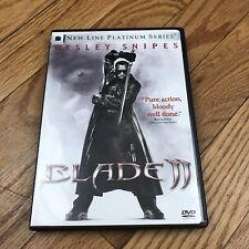 Blade II DVD 2002 Vampire Horror Scary Halloween Movie Night 2 Disk Edition