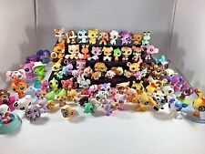 Littlest Pet Shop Lot 104 Cats, Dogs, Accessories, Folding Minis, Frogs, Birds