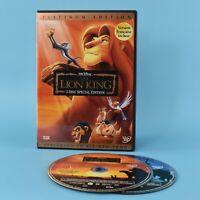 The Lion King - 2 Disc Special Platinum Edition - Walt Disney DVD - Bilingual