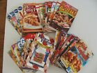 Lot of 37 Betty Crocker Pillsbury Cookbook Recipes Better Homes Brand Name