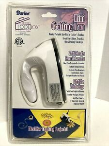 Darice Mini Crafting Iron / NEW SEALED Ideal For Crafting Projects