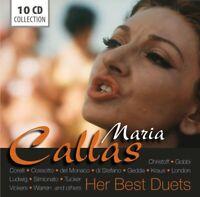 HER BEST DUETS - CALLAS,MARIA WALLET 10 CD NEU