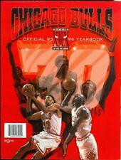 1995-96 Chicago Bulls Official Team Yearbook Michael Jordan & Scottie Pippen