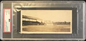Vintage Photograph: 1910's Game Browns vs Tigers Ty Cobb on 3rd PSA Type 1 Photo
