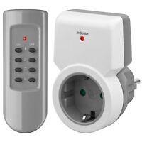 Strom Sparstecker Stecker Schalter für Steckdose 230 Volt 230V mit Fernbedienung