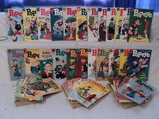 Popeye 31-151 (miss.26bks) + Specials SET 1954-1979 Dell Gold Key Comics (11254)