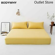 Luxury  Silk Fitted Sheet  Silk Queen Healthy Skin Bed Sheet Pillowcase