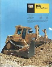 Equipment Brochure - Caterpillar - D9N - Track-Type Tractor - 1993 (E2394)