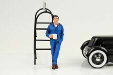 Mechanic Larry Break Taking Figurine 1:18 American Diorama No Car