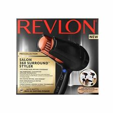 NEW! REVLON PRO COLLECTION SALON 360 SURROUND STYLER / DRYER CERAMIC IONIC TECH