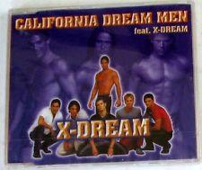 CALIFORNIA DREAM MEN ft. X-DREAM - X-DREAM - CD Single Sigillato