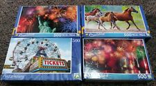 *Lot of 4* Jigsaw Puzzles from PUZZLEBUG 500 Piece NEW
