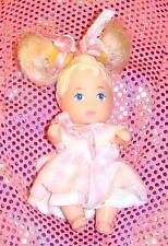 NEW TINY Dressed NEWBORN Darling Blond Baby Doll~Topper DAWN Krissy Dollhouse SZ