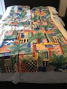 Vintage 1980's Core D'azur By Collier Campbell Fabric