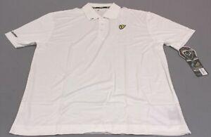 ScentBlocker Men's S3 Team Scent Tour S/S Golf Polo Shirt HD3 White Size 2XL NWT