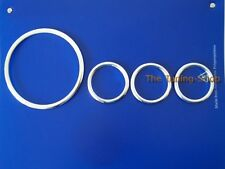 Fits Land Rover Defender 1999-2005 Aluminium Dial Rings Surrounds Set New