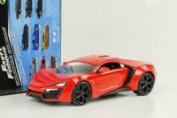 Lykan HyperSport red rot  Fast and & Furious 7  1:24 Jada