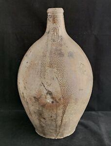 Bellarmine or Bartmann Pottery Jug with Face 17-18th Century - 44 cm (Q0132)