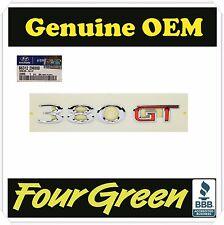 Hyundai Genesis Coupe GENUINE OEM 380GT Emblem Rear Trunk  [863122M000]