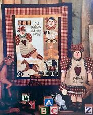 Once Upon a Vine Quilt Pattern Doll Pattern RAGGEDY OLD TOYS Keepsake Treasures