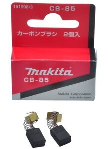 GENUINE MAKITA CARBON BRUSH SET 191998-3 CB85 - HP1631, M8101X, MT811, MT814