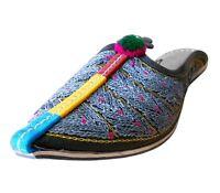 Women Slippers Indian Handmade Leather Traditional Clogs Jutties UK 3.5 EU 36