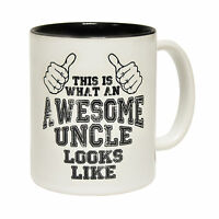 This Is What An Awesome Uncle Looks Like Novelty Family 123t MUG cup birthday